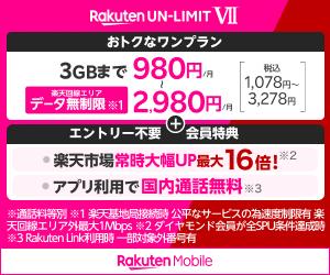 楽天モバイル【通話SIM】